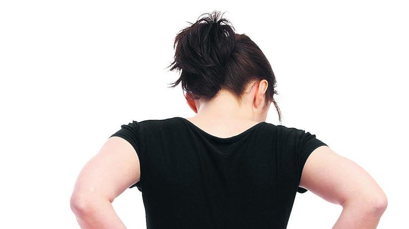chrbát, chrbtica, sedenie, fitlopta