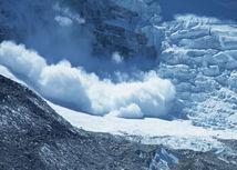lavína, sneh