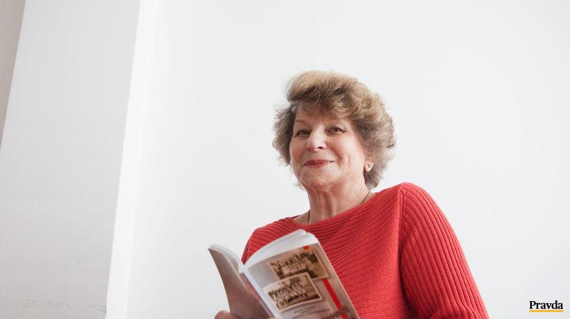 Paula Sabolová, autorka slovníka, východ