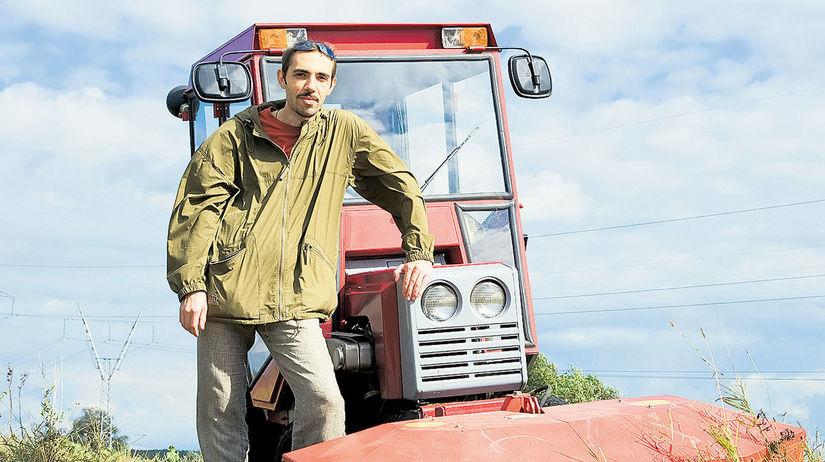 traktor, farmár, poľnohospodárstvo, roľník