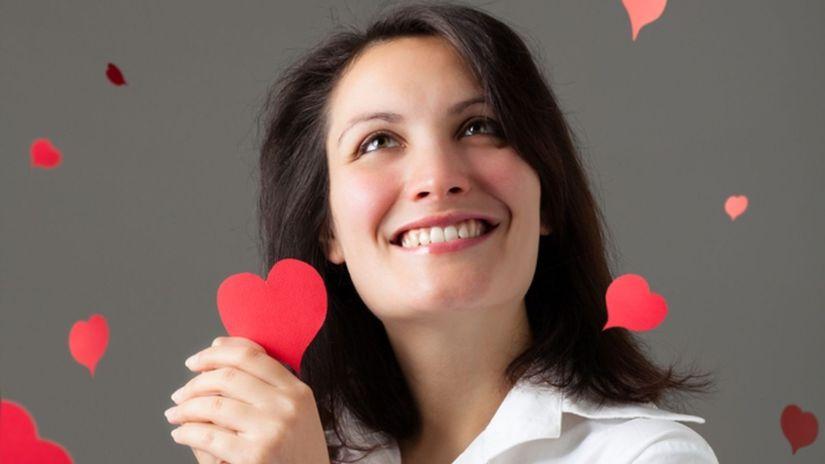 zamilovaná žena, láska, vzťah