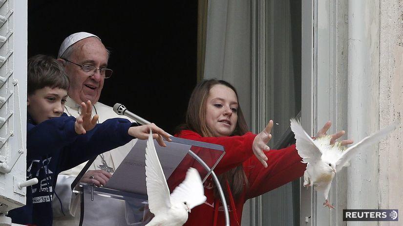 pápež, holubice