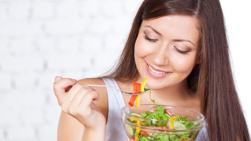 diabetes, strava, cukrovka, zelenina, šalát