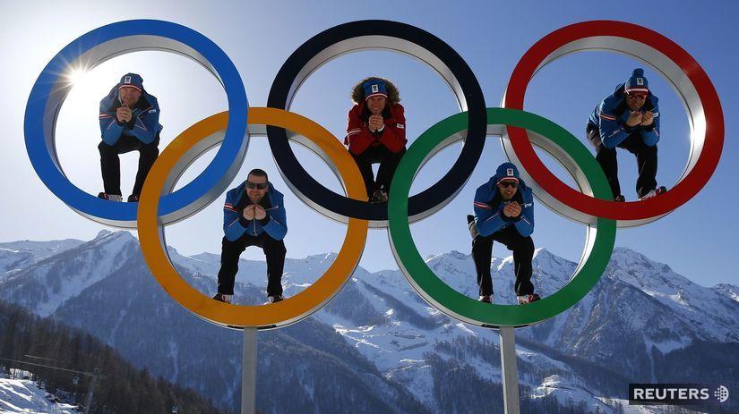 olympijské kruhy, Soči