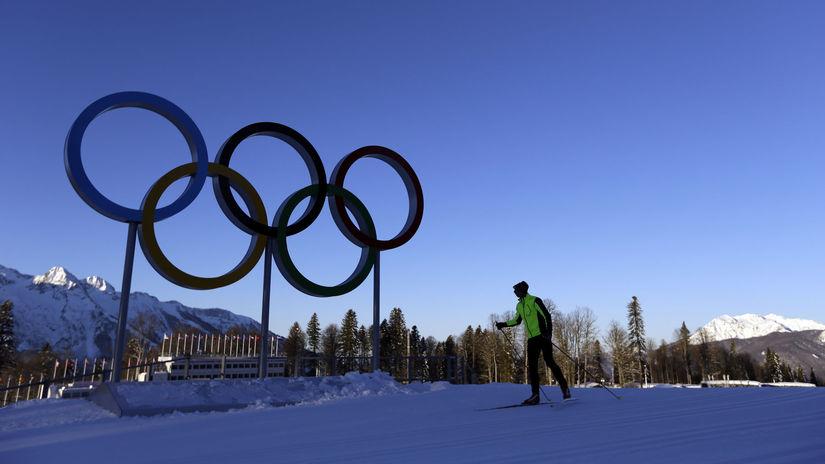 Soči, ilustračná, olympijské kruhy