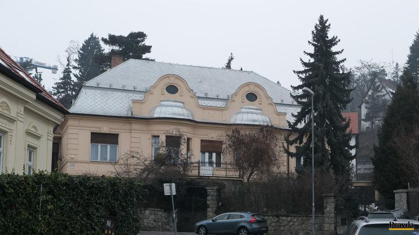 Bilak, bilakov dom Timravina ulica, vila, Slavin