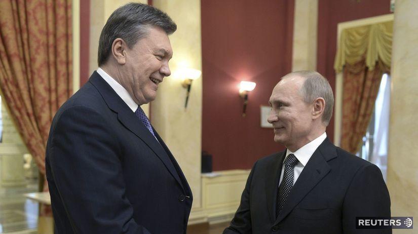 Putin, Janukovyč