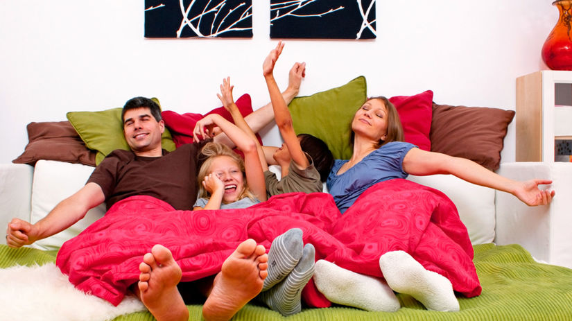 rodina, víkend, voľný čas