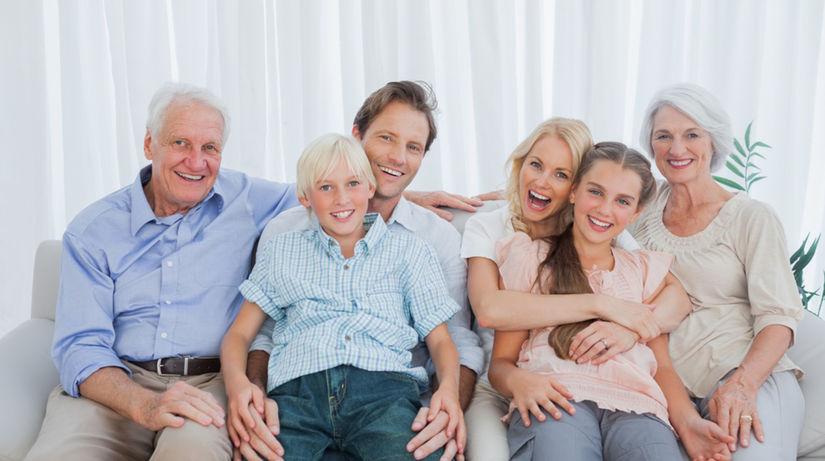 rodina - rodinná idylka