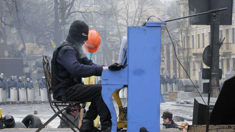 Ukrajina, protesty