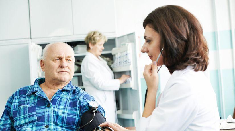 tlak, srdce, vyšetrenie, tlakomer, doktor,...