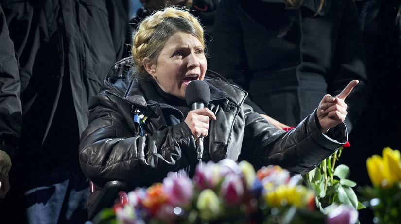 Julia Tymošenková, Ukrajina, Kyjev