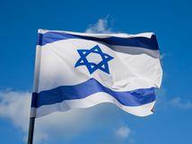 izrael, zástava, vlajka