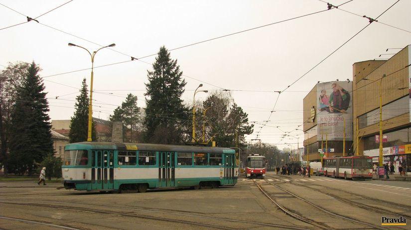 Košice, MHD, Dopravný podnik, električka