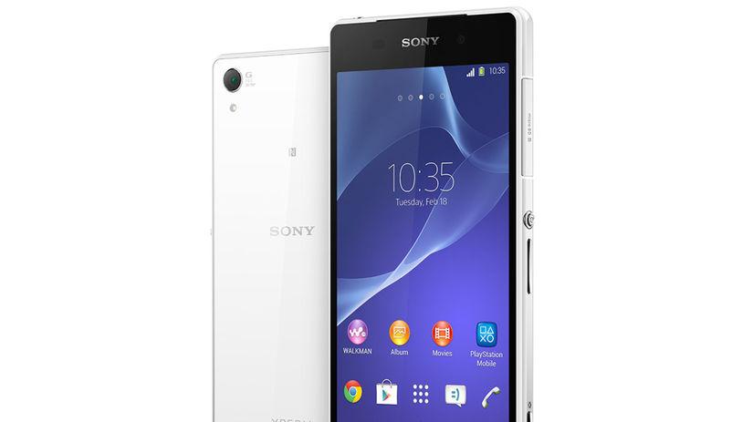 Sony Xperia Z2, smartfón