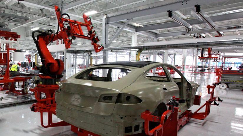 Tesla Motors - továreň