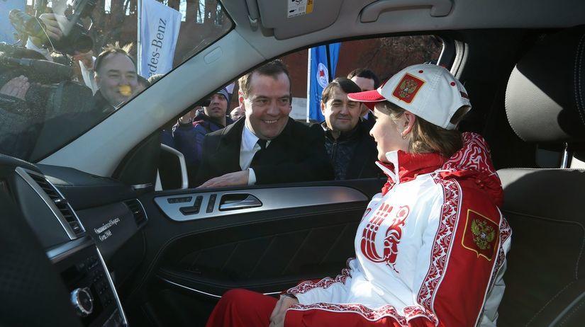 Julia Lipnická, Dmitrij Medvedev