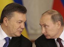 Rusko, Ukrajina, Viktor Janukovyč, Vladimír Putin
