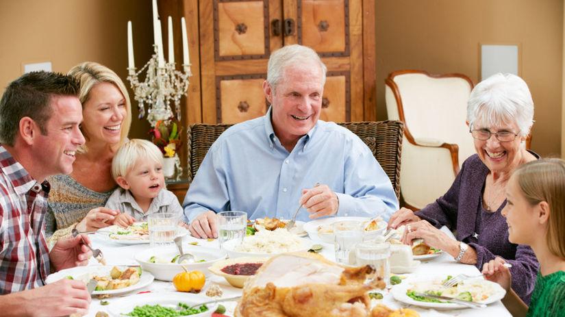 rodina, rodinná oslava, úcta k starším