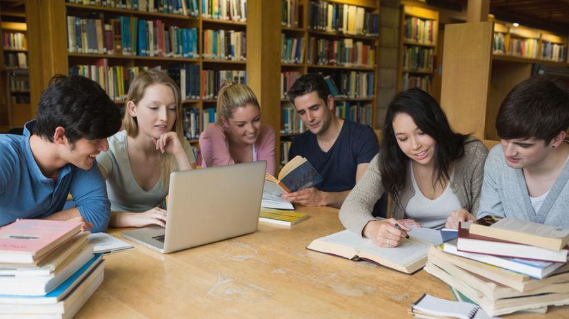 štúdium, študenti, knižnica, študovňa
