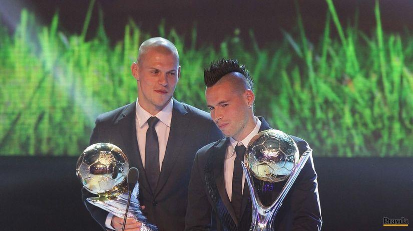 futbalista roka 2013, Marek Hamšík, Martin Škrtel