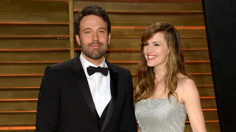 Herec Ben Affleck a jeho manželka Jennifer Garner.