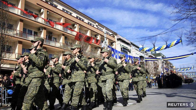 Kosovo, vojsko, bezpečnostné sily