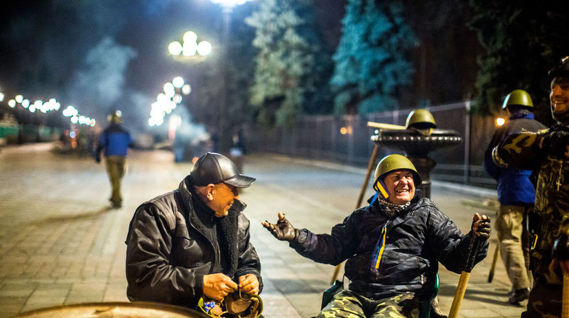 UKRAJINA: Nepokoje v Kyjeve