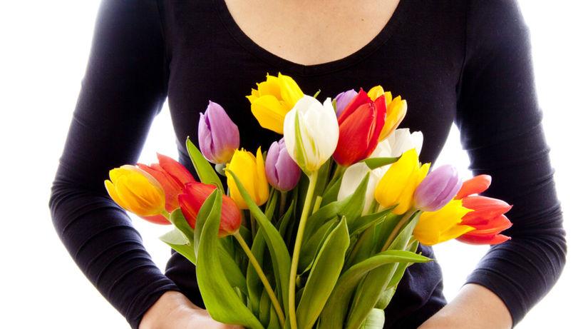 MDŽ - tulipány - kvetiny