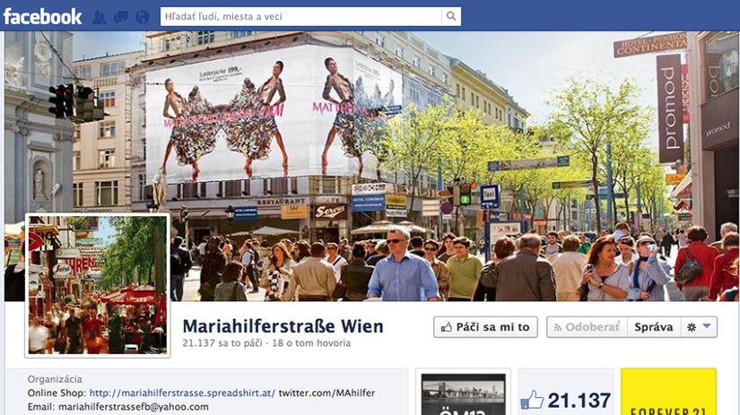 Viedenská Mariahilfer Strasse