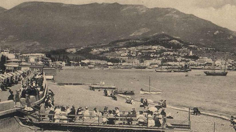 Krym, historická snímka