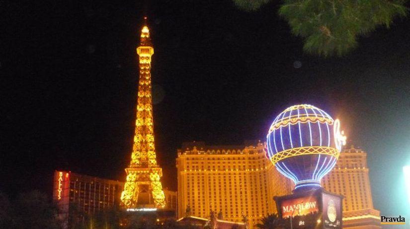 Eiffelova veža las vegas