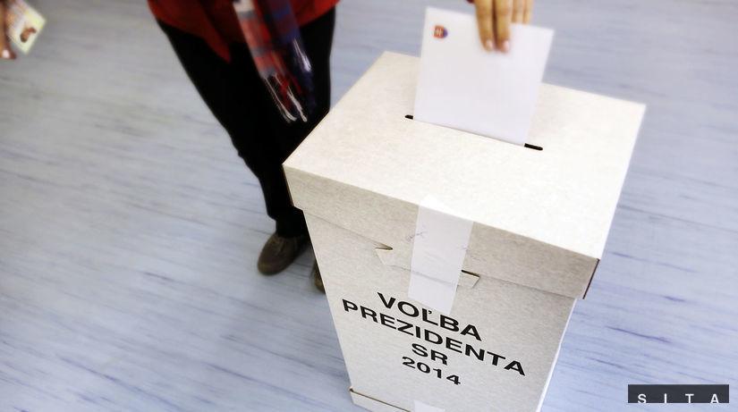 prezidentské voľby, urna