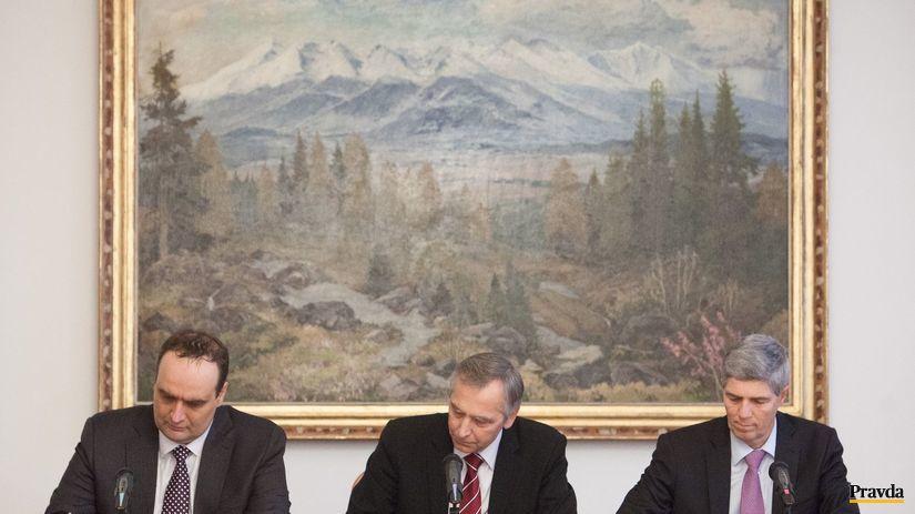 Podpis Memoranda za ucasti predsedov stran...