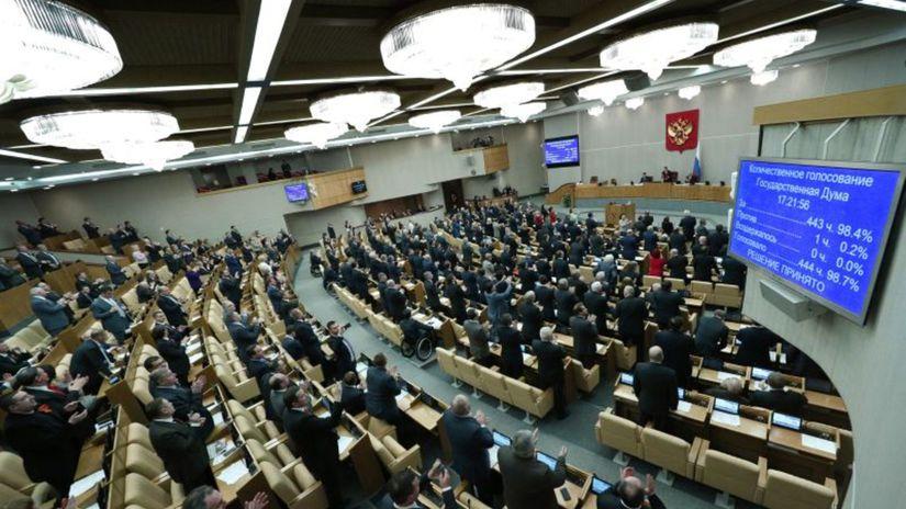 Rusko, Štátna duma