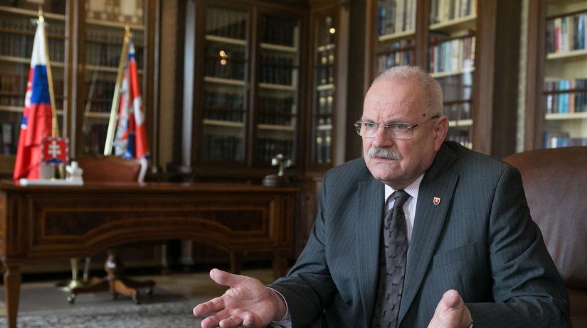 Ivan Gašparovič, prezident SR