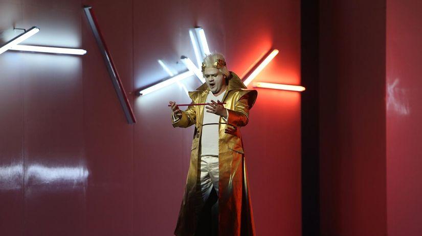 Anton Rositskiy ako Tito v Mozartovej opere La...