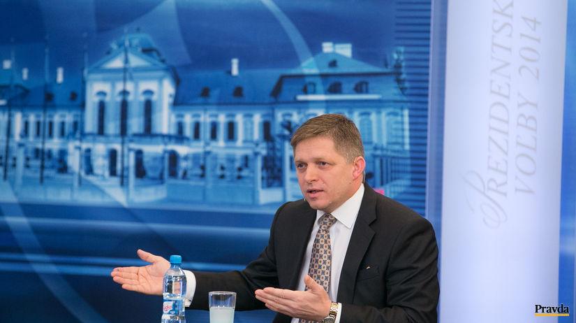 prezidentske volby 2014, duel TA3, Robert Fico
