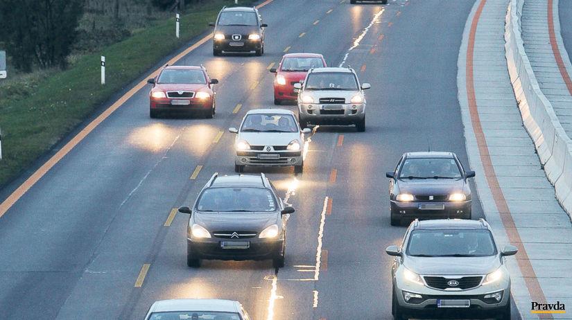 diaľnica, doprava, cesta, auto, automobilizmus