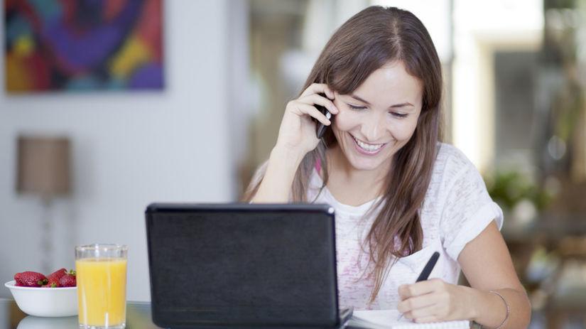 organizačný typ, žena v práci