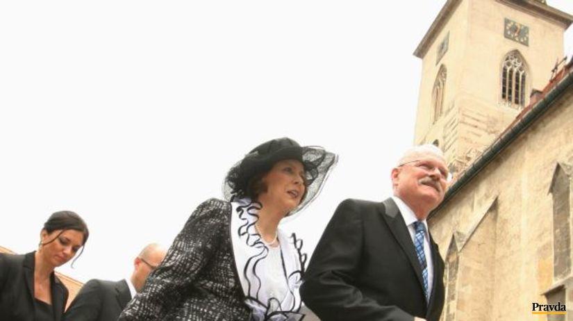 Ivan Gašparovič, Silvia Gašparovičová