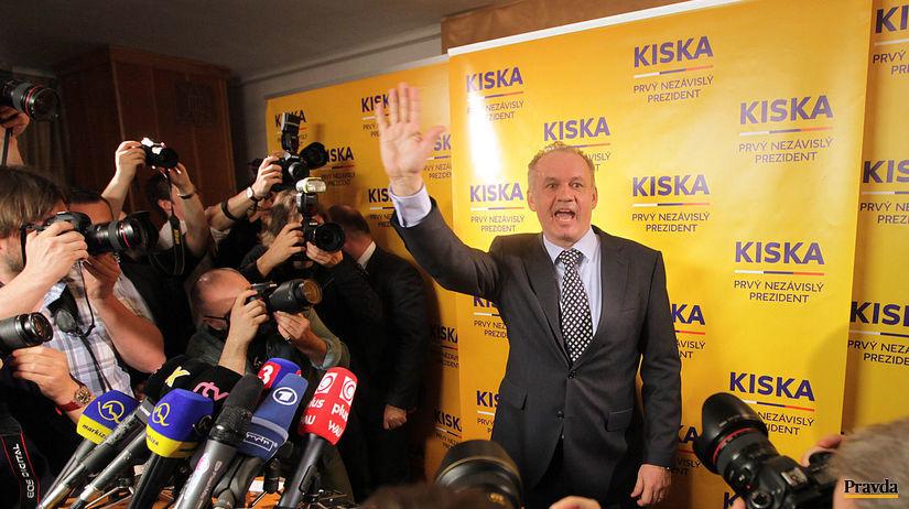 prezidentské voľby 2014, Kiska