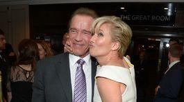 Arnold Schwarzenegger (vľavo) a Emma Thompson