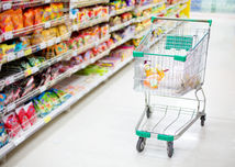 nakupovanie, nákup, hypermarket, supermarket, košík, cena, obchod, tovar