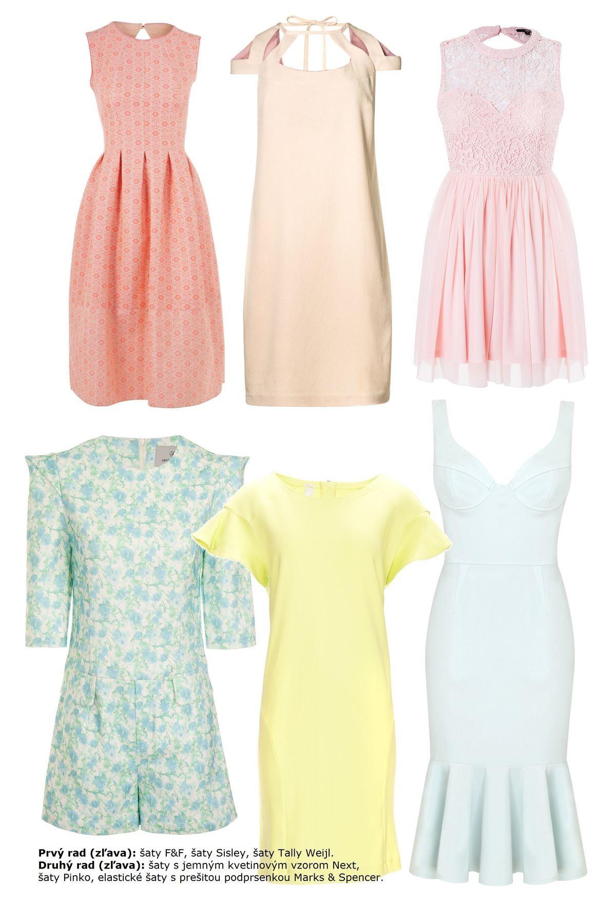 7ef1c268f7a7 Šaty naše každodenné! Vyberte si zo 48 tipov trendových modelov jari ...