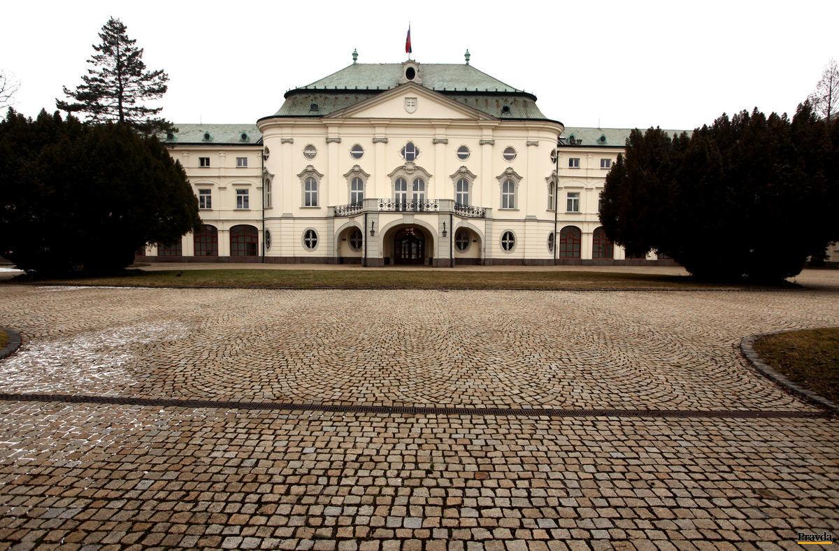 úrad vlády, stará budova úradu vlady