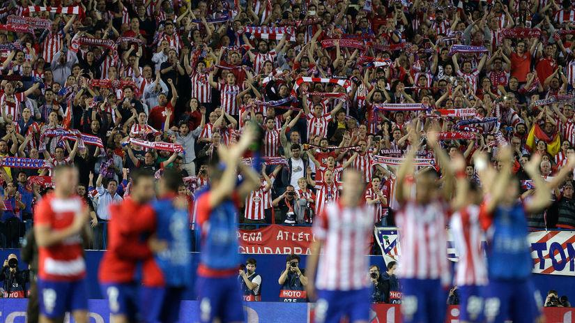 Atlético Madrid - FC Barcelona, oslava
