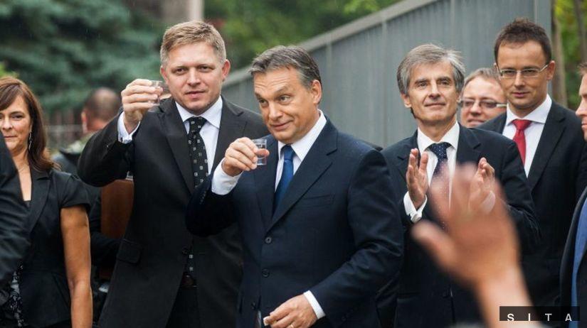 Robert Fico, Viktor Orbán