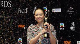 Čínska herečka Zhang Ziyi získala cenu pre najlepšiu herečku roka za výkon vo filme The Grandmaster.