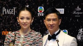 Nick Cheung (vpravo) a Zhang Ziyi.